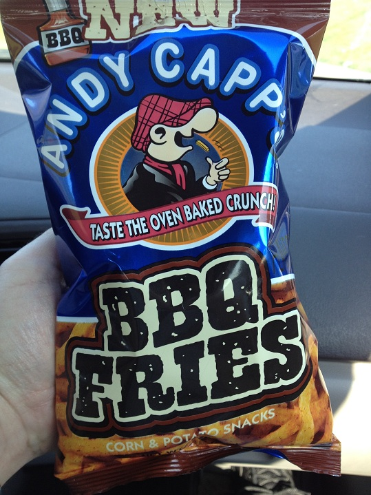 BBQ Fries Bag