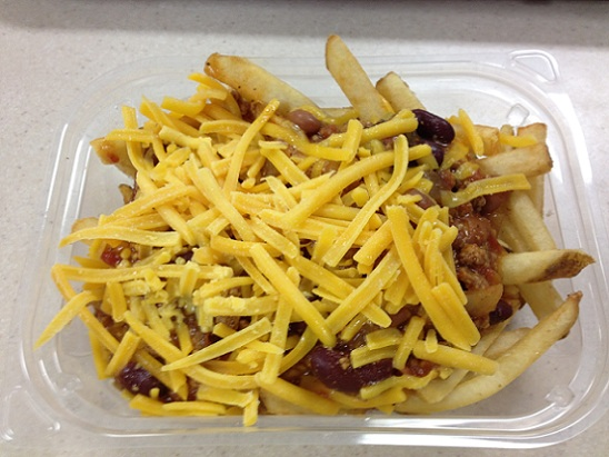 Wendy's Chili Cheese Fries